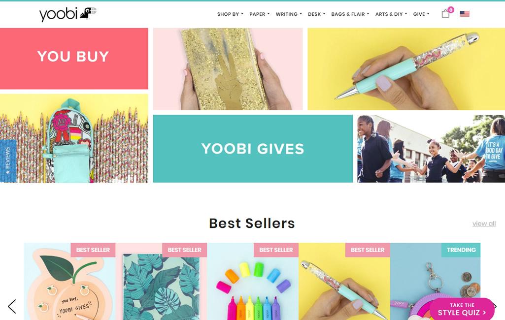 Yoobi Portfolio Example